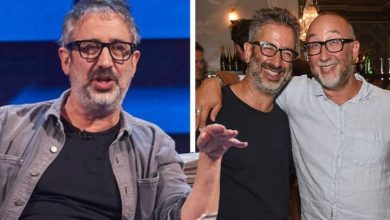 David Baddiel admits his brothers were alarmed by his jokes about recently deceased mum