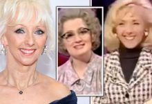 Debbie McGee reacts as famous Mrs Merton clip resurfaces: