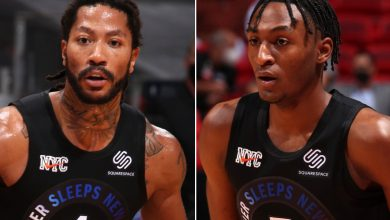 Derrick Rose thinks the world of Knicks rookie Immanuel Quickley