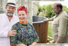 Dick Strawbridge reacts as Escape To The Chateau fan brands him 'crazy' for hot tub move