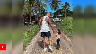 Dwayne Johnson: Every man needs a daughter - Times of India