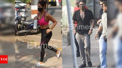 ETimes Paparazzi Diaries: Ajay Devgn makes a stylish appearance in the city, Malaika Arora continues to give us major fitness goals - Times of India