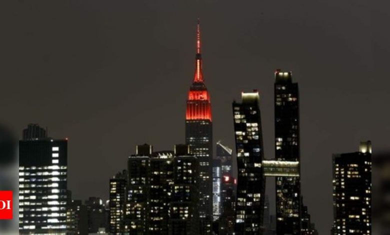Empire State Building:  The Empire State Building now runs 100% on wind energy - Times of India