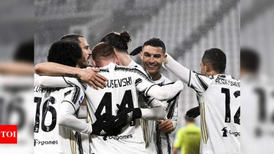 Evergreen Cristiano Ronaldo lifts Juventus to third in Serie A, Napoli sink in Genoa | Football News - Times of India