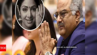 """Exclusive! Boney Kapoor looked at Sridevi's mortal remains and said: """"You went away. The 'Khuda Gawah' sequel couldn't be done"""" - Times of India"""