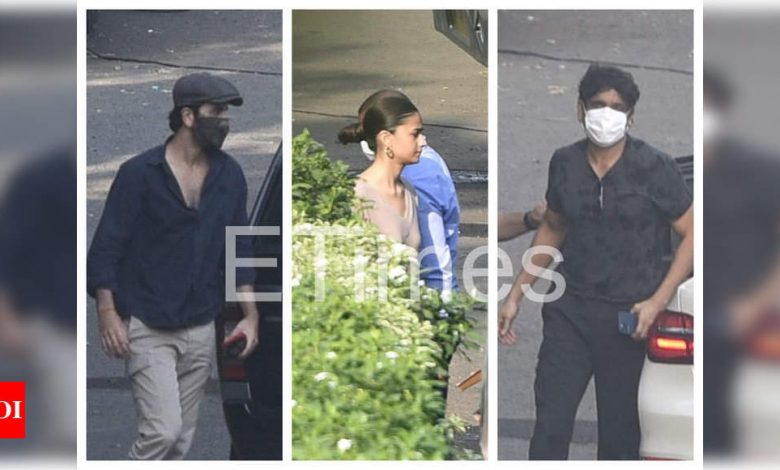 Exclusive Photos: Nagarjuna joins Alia Bhatt and Ranbir Kapoor to shoot for 'Brahmastra' in Mumbai - Times of India