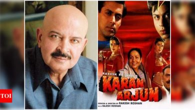 Exclusive! Rakesh Roshan on the fire at the theatre screening Salman Khan-Shah Rukh Khan's 'Karan Arjun': How did the film release without my consent? - Times of India
