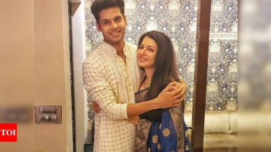 Exclusive interview! Bhagyashree on son Abhimanyu's birthday: I hope that God gives him the guidance to accomplish his dreams - Times of India