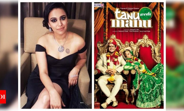 Exclusive interview! Swara Bhasker on 10 years of 'Tanu Weds Manu': My character 'Payal' was a departure from typical heroine's friend roles - Times of India
