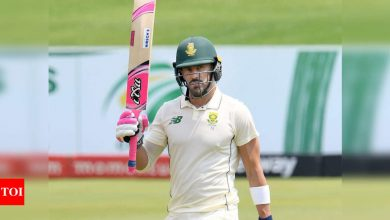 Faf du Plessis announces retirement from Test cricket | Cricket News - Times of India