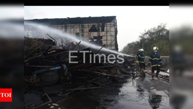 Fire breaks out on the sets of Saif Ali Khan and Prabhas-starrer 'Adipurush': Details inside - Times of India