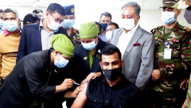 First round of Covid-19 vaccines administered to New Zealand-bound Bangladesh squad members