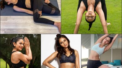 Fitness Fashion! Rakul Preet Singh steams up the cyberspace in stylish sports bras    The Times of India