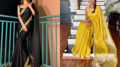 Five best saris from Dia Mirza's stylish and sustainable wardrobe  | The Times of India