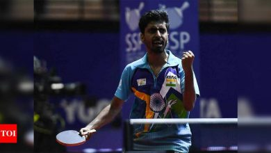 Frequent 14-day quarantine not helpful for athletes: Sathiyan | More sports News - Times of India
