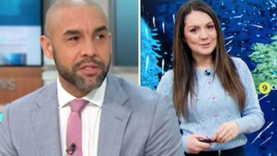 GMB hosts Alex Beresford and Laura Tobin grilled over night they spent in Glastonbury tent