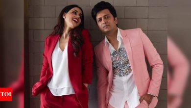 Genelia D'Souza has the sweetest wish for hubby Riteish Deshmukh on their wedding anniversary; says 'there is no me without you' - Times of India