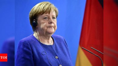 German chancellor Angela Merkel warns of Covid-19 third wave if Germany does not open cautiously - Times of India