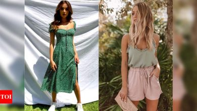 Get ready with your summer closet for the upcoming season - Times of India