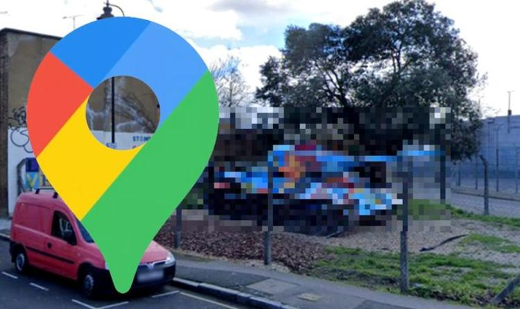 Google Maps Street View: Army tank spotted in rare suburban London sighting