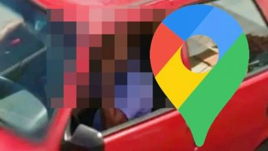 Google Maps Street View: Man's embarrassing moment behind the wheel caught on camera