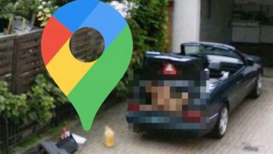 Google Maps Street View: Naked man spotted in bizarre predicament with car