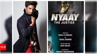 HC to Sushant Singh Rajput 'fan': How do you know what the film 'Nyaay: The Justice' is about? - Times of India