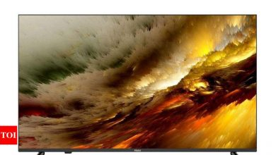 Haier:  Haier India launches new AI enabled 4K Smart LED Android TVs, price starts Rs 51,490 - Times of India