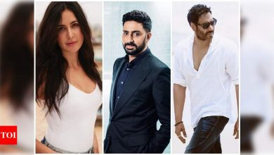 Happy Birthday, Abhishek Bachchan: Katrina Kaif, Ajay Devgn to Madhuri Dixit, B-town stars pour in wishes on social media - Times of India ►
