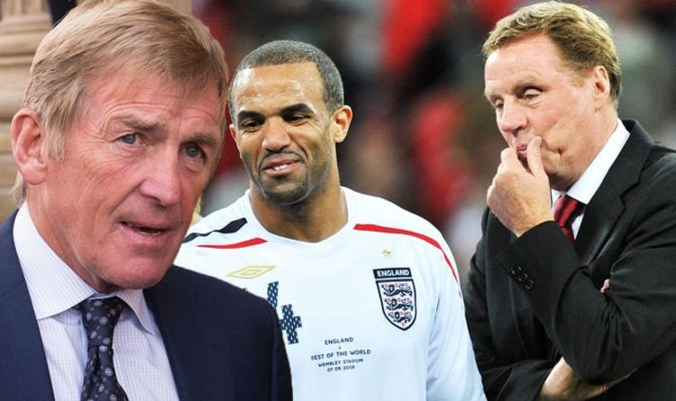 Harry Redknapp in 'bust up' with Kenny Dalglish at Soccer Aid game over Craig David change