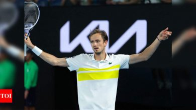 'He tricks you': 'Chess player' Daniil Medvedev keeps opponents in check   Tennis News - Times of India