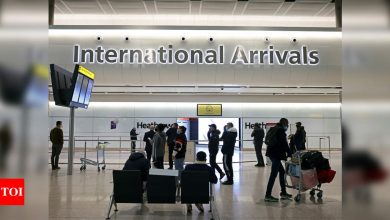 Heathrow Airport passenger numbers plunge 89% in January - Times of India