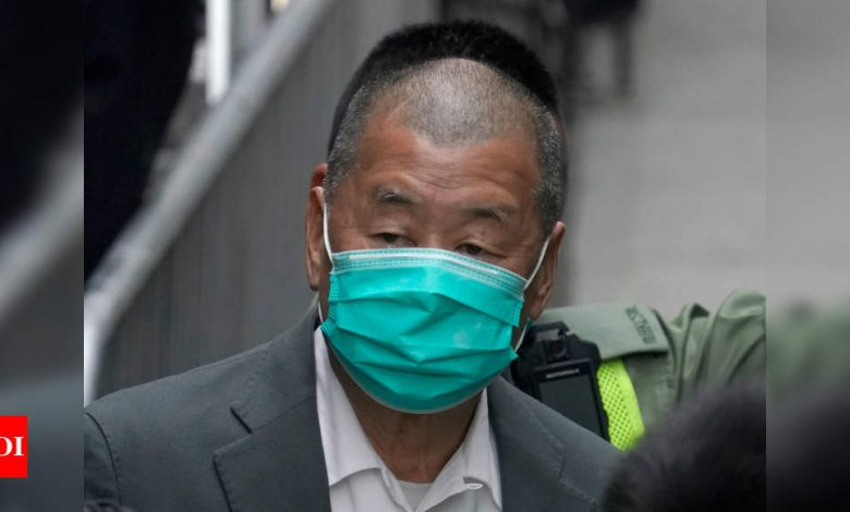Hong Kong denies bail for opposition publisher Jimmy Lai - Times of India