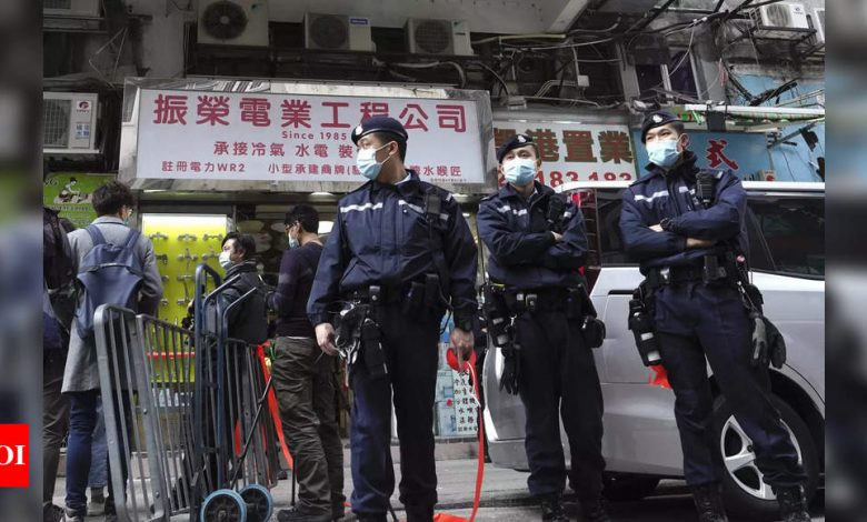 Hong Kong detains 47 activists on subversion charges - Times of India