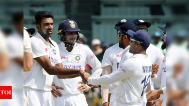 India vs England, 2nd Test: Sorry Bhajju pa, says Ashwin after breaking Harbhajan's record | Cricket News - Times of India