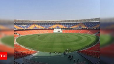 India vs England:  India vs England, 3rd Test: Crowd pressure for England at world's biggest cricket stadium   Cricket News - Times of India