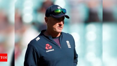 India vs England: Seat colour at Motera can make it hard for fielders to spot pink ball, says Thorpe | Cricket News - Times of India
