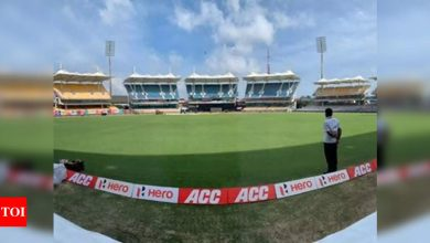 India vs England Test:  50 per cent crowd for second India-England Test; media also allowed to cover from press box | Cricket News - Times of India