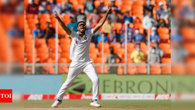 India vs England: Want the wicket to remain same for final Test, says Axar Patel   Cricket News - Times of India