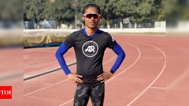 Indian GP: Hima Das wins 200m gold in her first race after more than a year   More sports News - Times of India