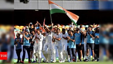 India's spectacular Australia triumph represents country's unsuppressed thirst to succeed: FM | Cricket News - Times of India