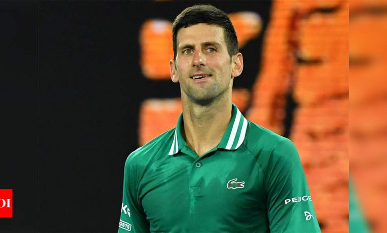 Injured Djokovic slams quarantine, suggests NBA-style 'bubble' tennis season | Tennis News - Times of India
