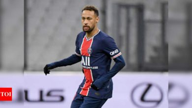 Injured Neymar out of PSG's Champions League clash with Barcelona   Football News - Times of India
