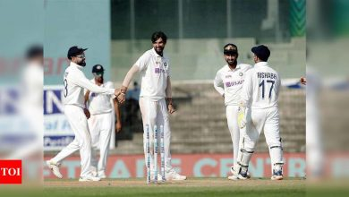 Ishant Sharma becomes third Indian pacer to take 300 Test wickets   Cricket News - Times of India