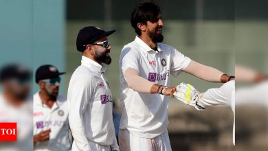 Ishant Sharma could've prioritised white-ball cricket to prolong career but chose to focus on Tests: Virat Kohli | Cricket News - Times of India