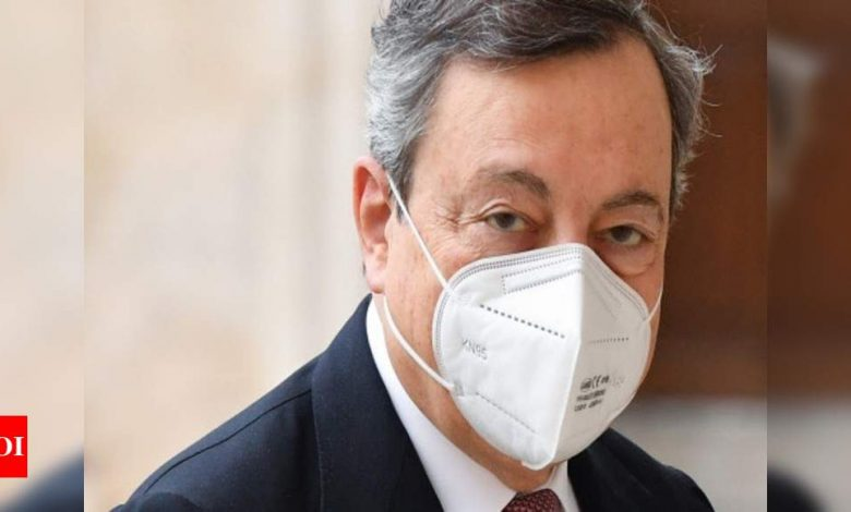 Italy's Draghi sworn in as Prime Minister of unity government - Times of India