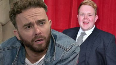 Jack P Shepherd and Coronation Street co-star Colson Smith in furious row due to injury