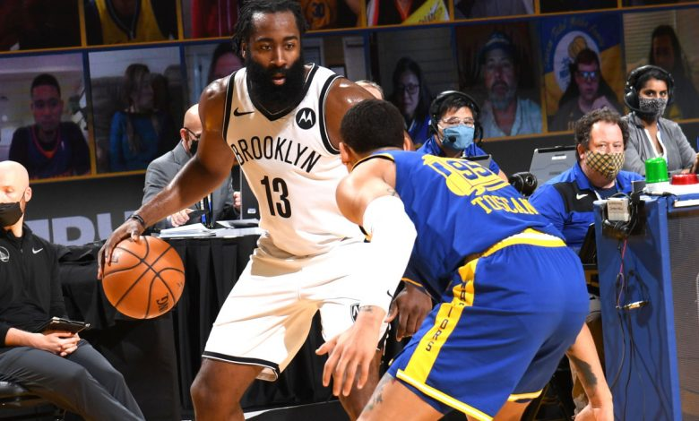 James Harden dishes out 16 assists in new Nets point guard role