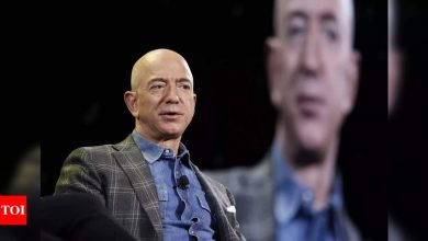 Jeff Bezos to step down as CEO of Amazon in third quarter - Times of India