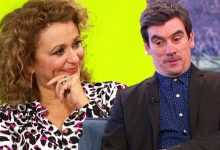 Jeff Hordley shuts down Nadia Sawalha's claim he's a sex symbol: 'My nan says I look old'